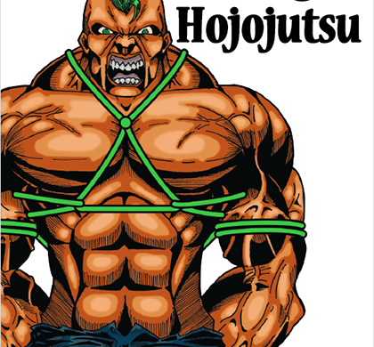La copertina di Rogue Hojojutsu
